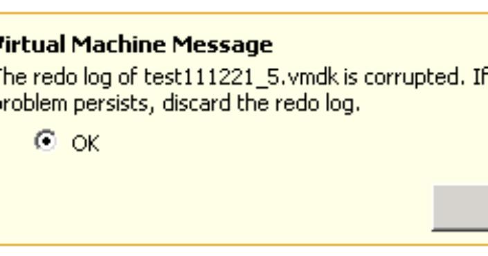 vmware-error
